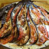 Evantail d'aubergine - www.sucreetepices.com