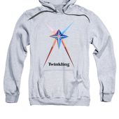 Twinkling Text Adult Pull-Over Hoodie for Sale by Michael Bellon