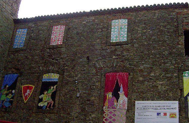 Diaporama château de Cascastel des Corbières