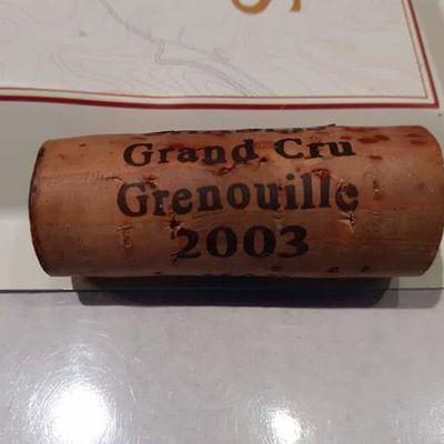2019 un Grand Cru Grenouille 🐸😀!