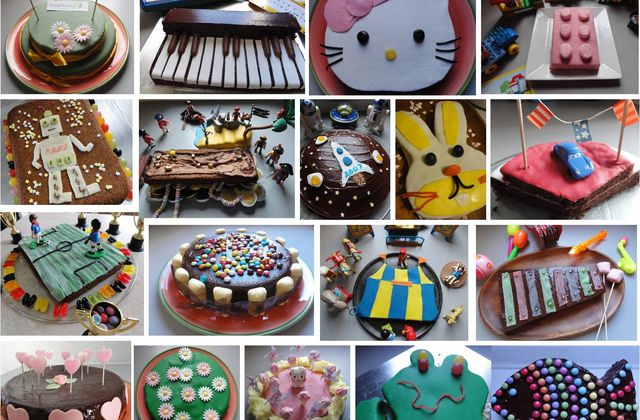 Comment faire de super gâteaux d'anniversaire quand on est pressée et /ou pas douée ? (trucs et astuces)