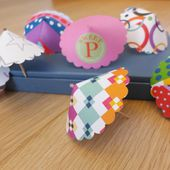 D.I.Y. Mini Paper Umbrellas
