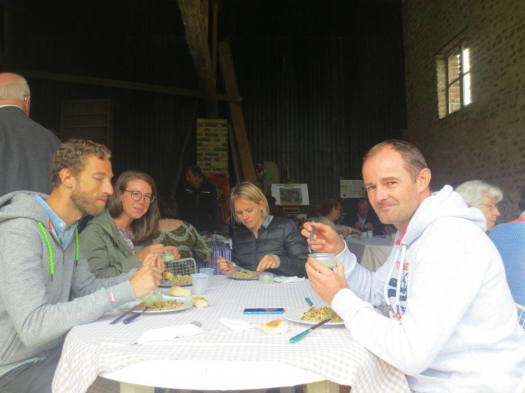 repas en plein air à MALINCOURT pour découvrir le nouveau projet d'ADDIL