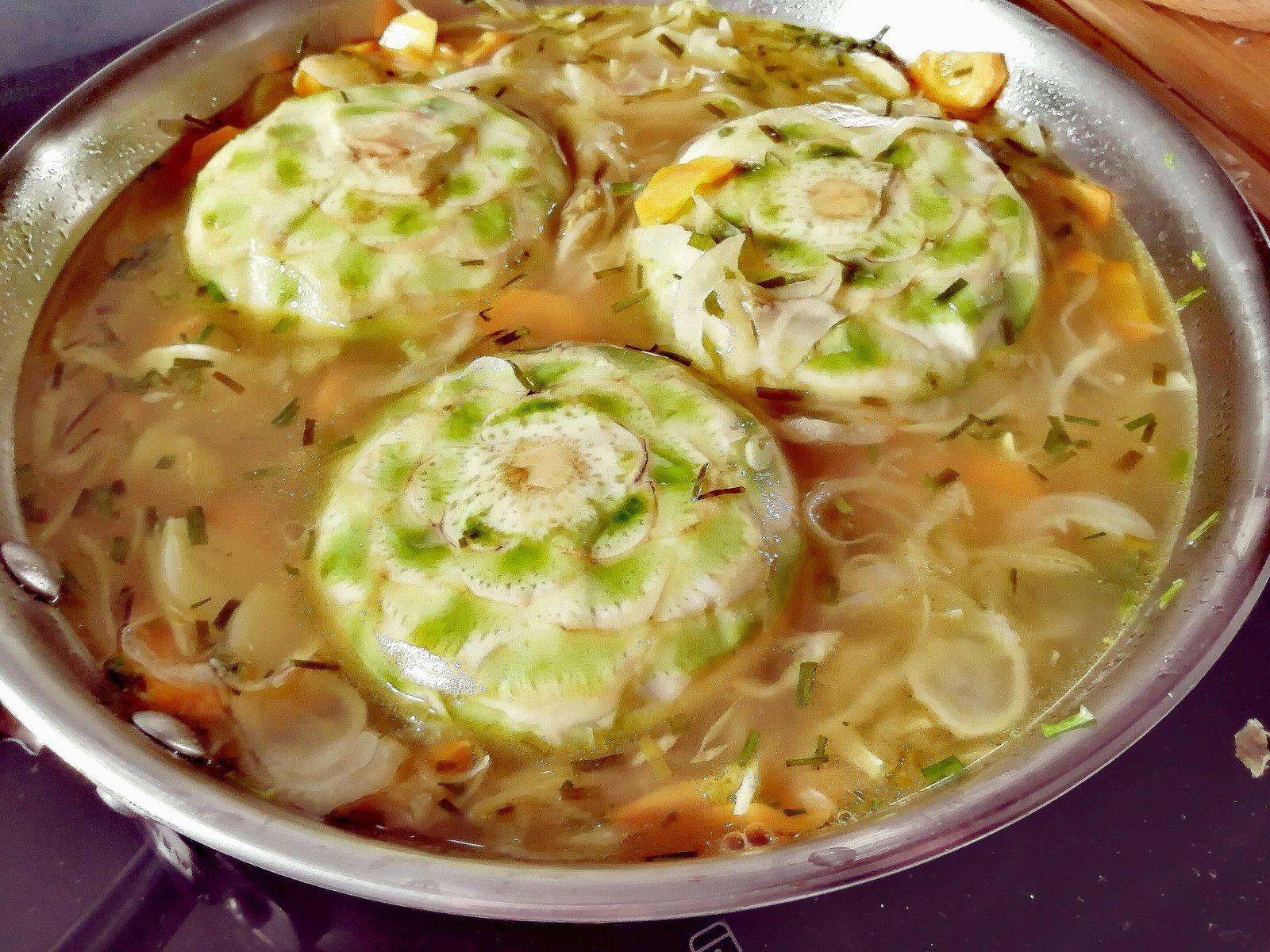 Recette artichauts et petits légumes au vin blanc