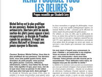 Michel Onfray - Causeur - 4.03.2020