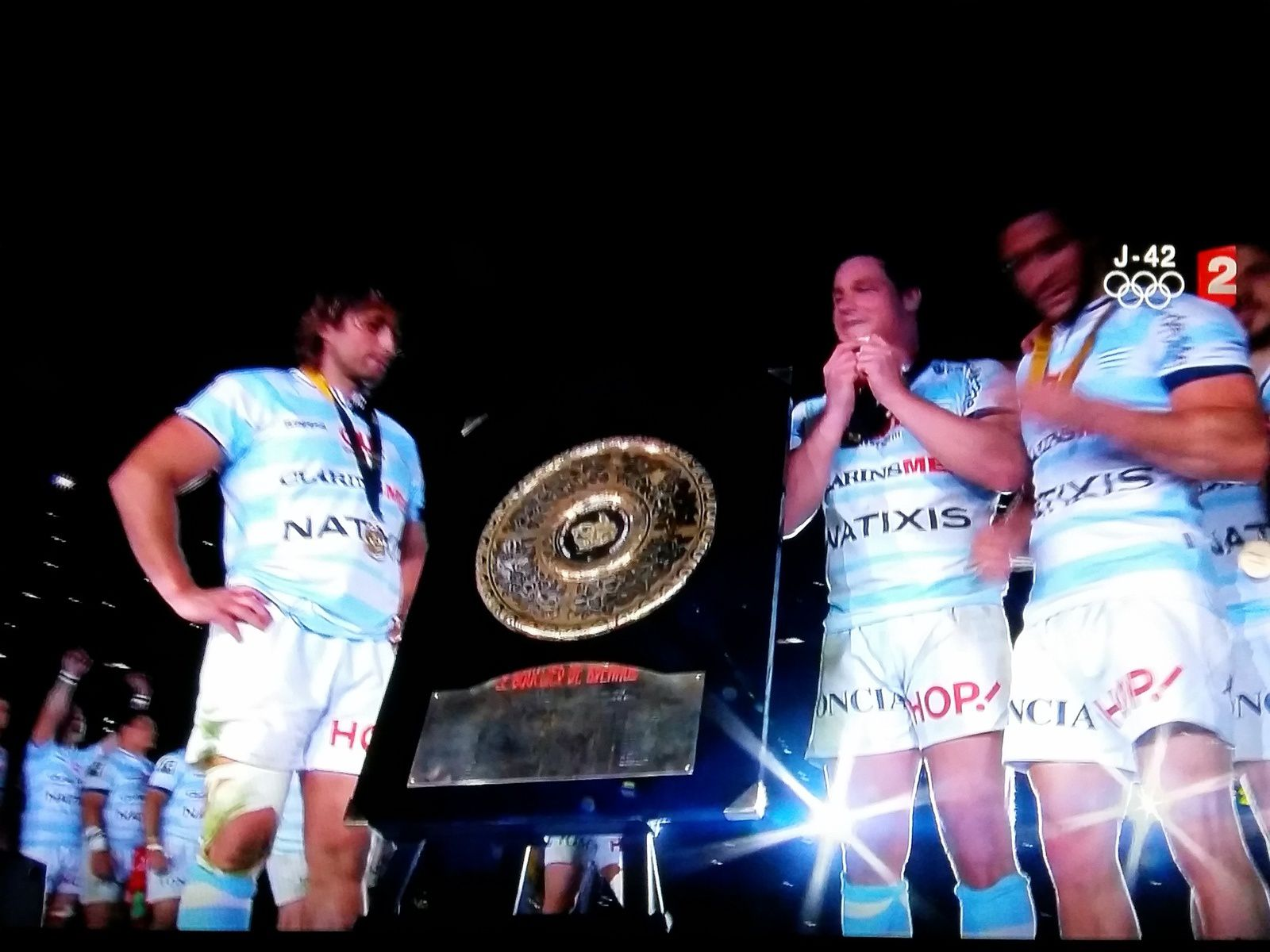 VICTOIRE DU RACING 92 - COLOMBES !