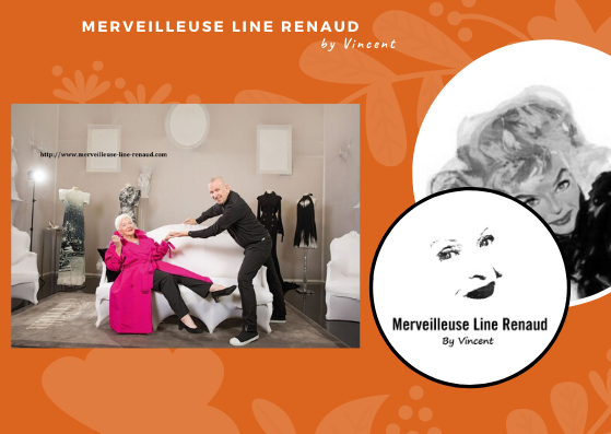 PHOTOS: Line Renaud dans le showroom de Jean Paul Gaultier, le 21 juin 2018