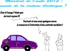 Mondial de l'auto 2012 : année de la voiture électrique ?