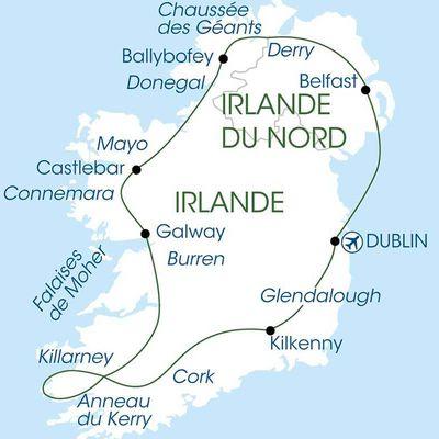 PRINTEMPS 2019 GRAND TOUR D'IRLANDE