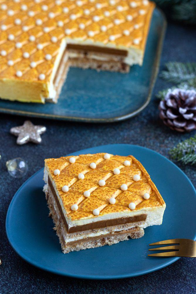 bavarois vanille spéculoos caramel