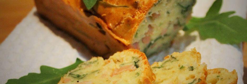 Cakes Apéritifs Poulet-Roquette