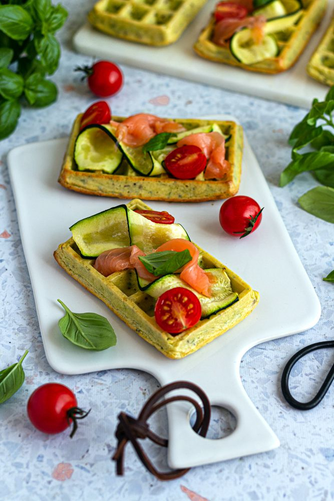 gaufre courgettes