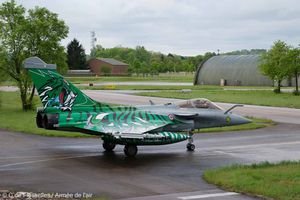 """E.C. 1/7 """"Provence"""" Rafale C """"Green Tiger"""" for Tiger Meet 2015"""