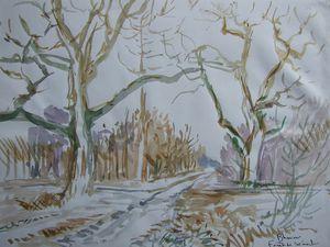 Le chêne Aqurelle 30x21  Bhavsar