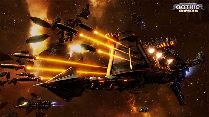 Gameplay Battlefleet Gothic : Armada ! #Focus