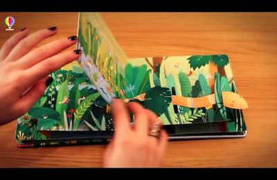 "Un livre pop up aux Editions Usborne  : ""La jungle"""