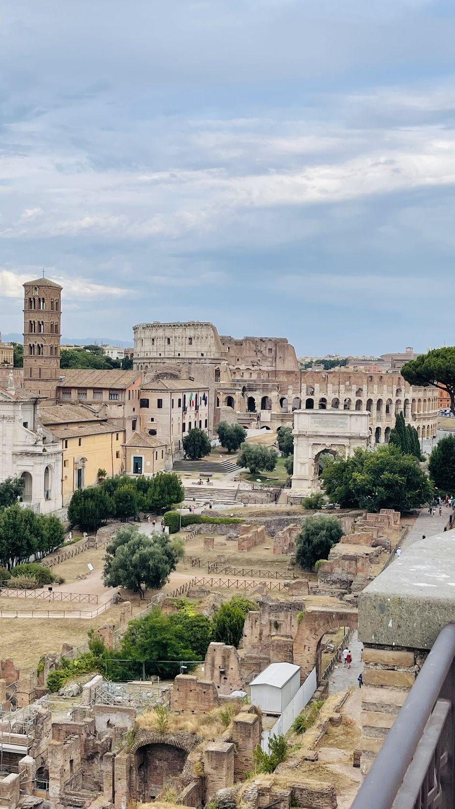 Les ruines de la Rome antique ou comment remonter le temps