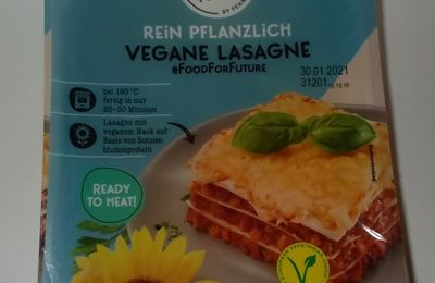 Penny Food for Future Vegane Lasagne