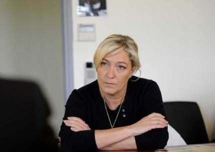 Le Pen et les reportages