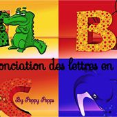 La prononciation de l'alphabet en anglais by Poppy Popps by psalernoprof1 on Genially