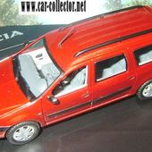 RENAULT DACIA LOGAN MCV 2006 7 PLACES 1/43 ELIGOR - car-collector.net