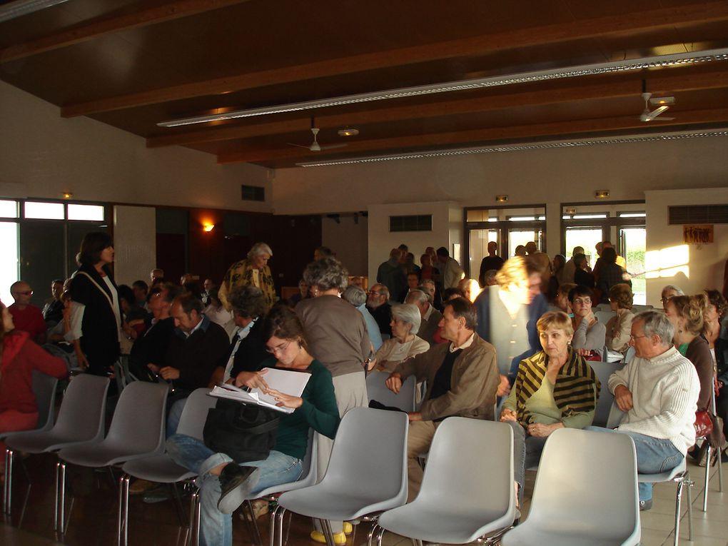 Bernard FRIOT - économiste sociologue - conférence-débat sur les retraites le 13/09/2010 salle des Champs Blancs à Joigny