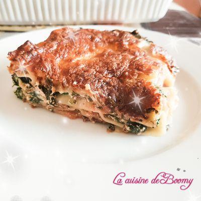 Lasagnes épinards / ricotta