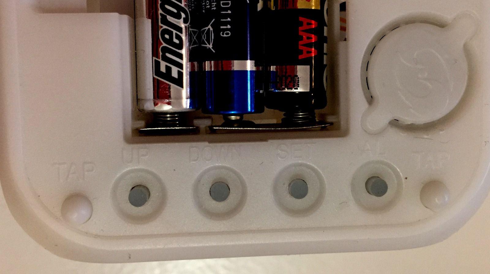 reveil matin alarm digital lumiere d'ambiance  son de la nature LBUYR sur charlotteblablablog
