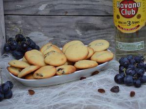 Palets de dames aux raisins secs