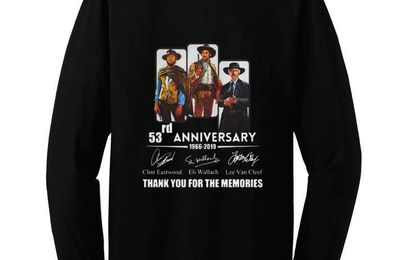 emium The Good the Bad and the Ugly 53rd anniversary signatures shirt