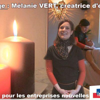 Témoignage de Mélanie Vert, créatrice d'entreprise
