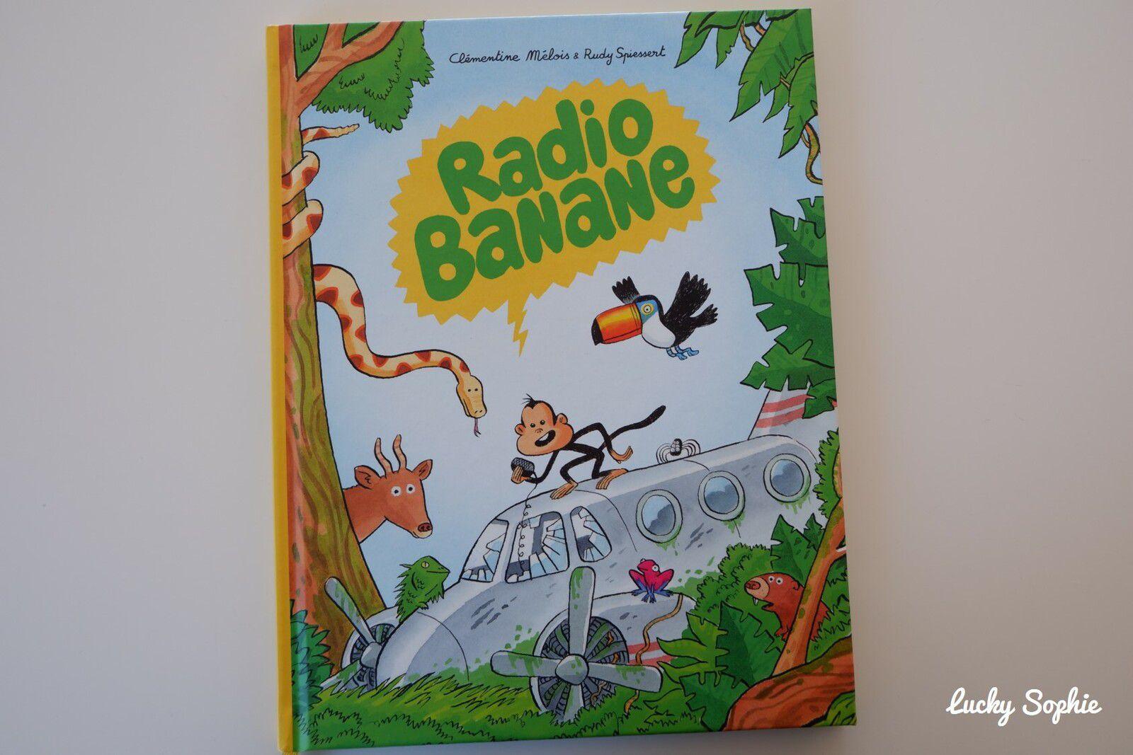 L'amusant album Radio banane