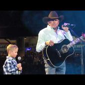 """God and Country Music"" George Strait w/special guest, grandson Harvey Strait"