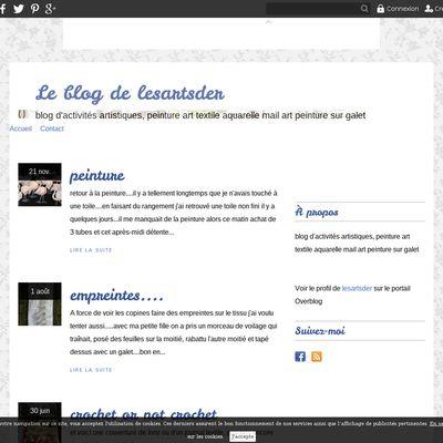Le blog de lesartsder