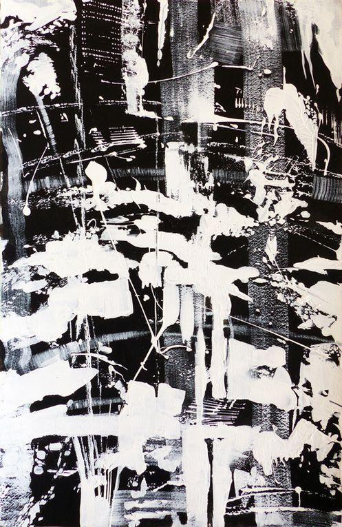 Marie Kresser-Verbois - Acryliques sur papier 32,5 x 50 cm