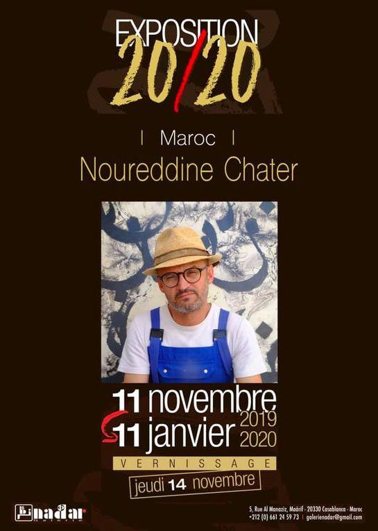 EXPOSITION 20/20 : 1ère étape Galerie Nadar à Casablanca