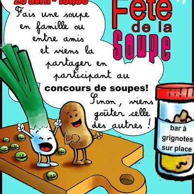 1ère Fête de la soupe 20 avril 2012