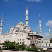 Istanbul - la Mosquée Bleue - LANKAART