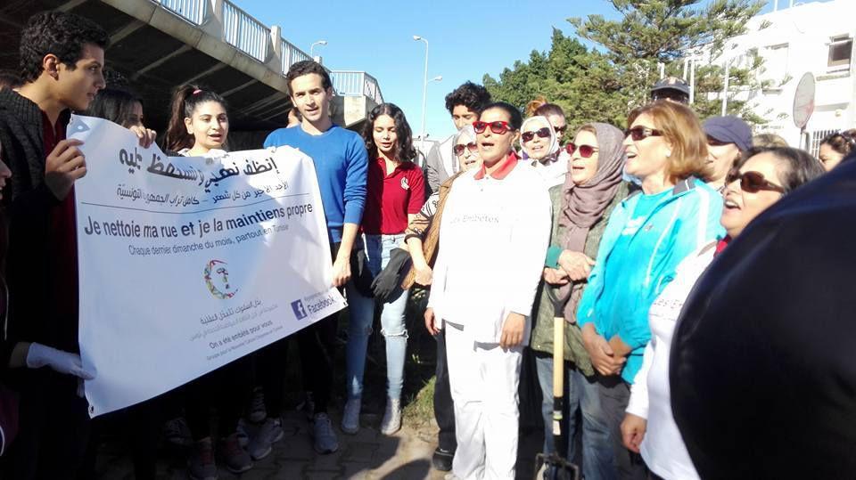Honneur aux jeunes citoyens de Tunisie.