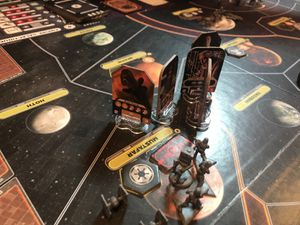 Star Wars Rebellion avec son extension The Empire Rising en VO