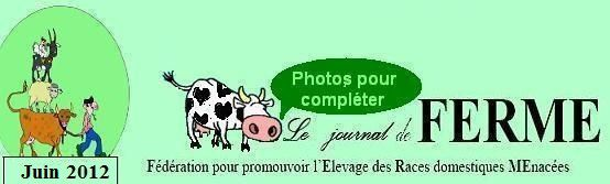 Les photos accompagnant le journal N°70 de l'association FERME.