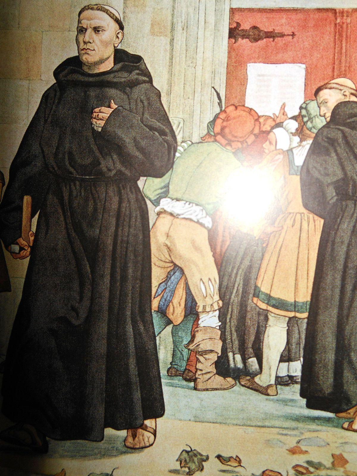 2017  500 Jahre Reformation  Martin Luther - Meine Thesen