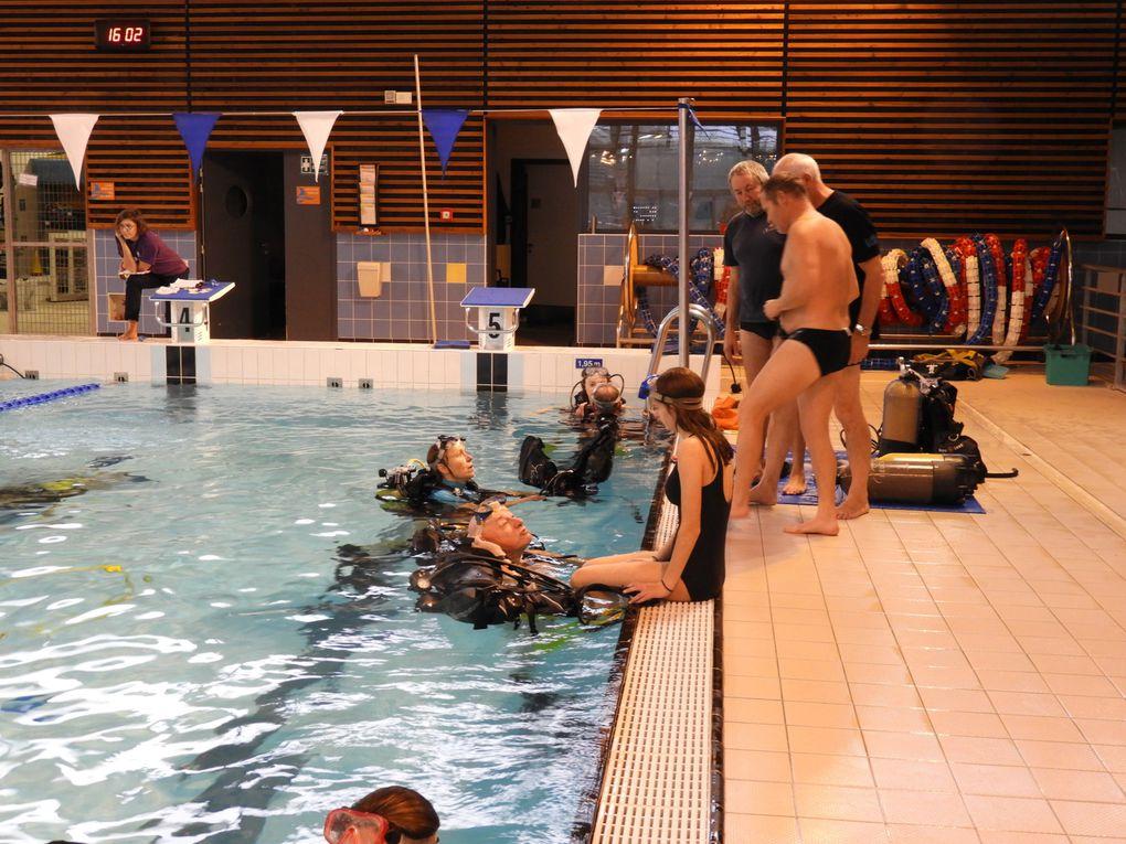 Baptêmes de plongée pour le Téléthon le 09/12/2017