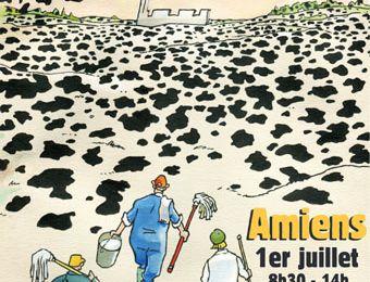 NON A L'INDUSTRIALISATION DE L'AGRICULTURE : 20 FERMES VALENT MIEUX QU'UNE USINE ! En écho à la lutte contre la « ferme des 1000 vaches » dans la Somme, la Conf' 37 appelle à un rassemblement le 1er juillet à 10h30 à Loches devant la permanence parlementaire du député socialiste Jean-Marie Beffara.PLU / Sud Touraine la ferme à 400 vaches reportage photo manifestation 2 avril  à Preuilly sur Claise.. / Courriers et mail aux 2 listes