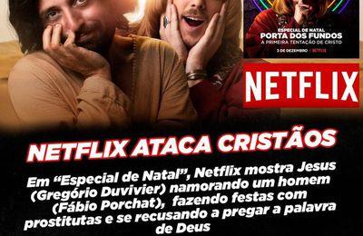 Brésil : une pétition appelle au boycott d'une série Netflix présentant le Christ comme gay