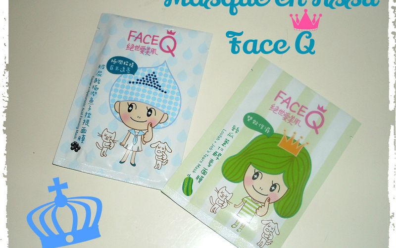 Bin les Masques en Tissu Face Q s'attachent derrière les oreilles !!!