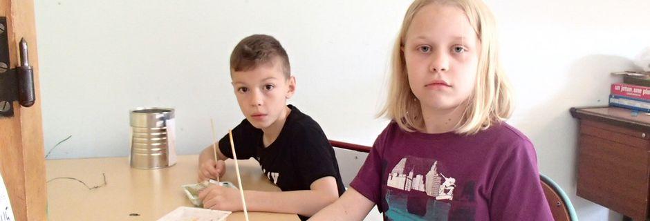 Dissoudre le papier, par Emma et Jules