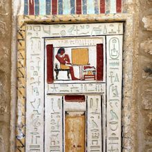 New Discovery : 2 Tombs of the Old Kingdom of a father and son