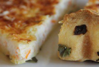 Quiche de la mer (surimi & algues)
