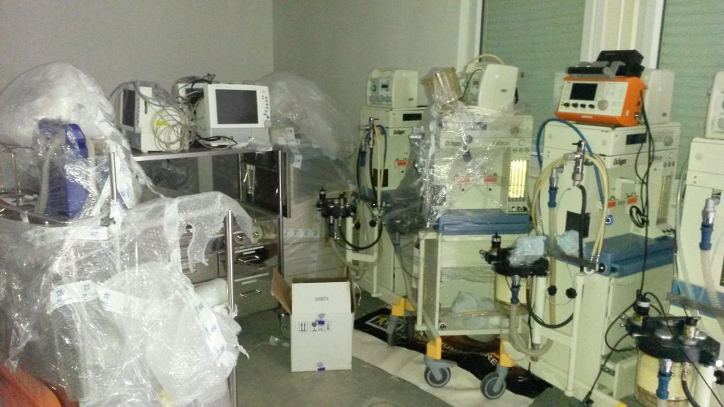 110m3 de matériel pour l'Hôpital de Tchernivtsi en Ukraine